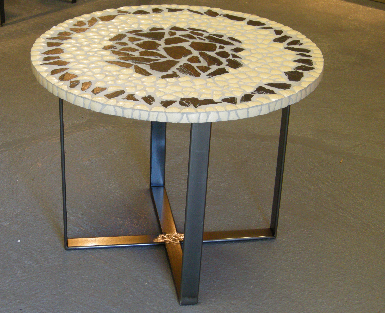 Table basse: Autruche.